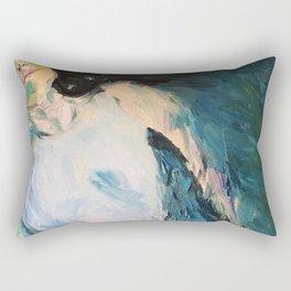 Girl on water Rectangular Pillow