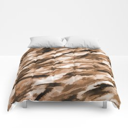 Camo - Beige on Beige Comforters