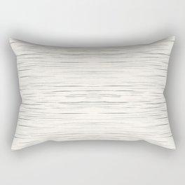 Meteor Stripes - Off White Rectangular Pillow