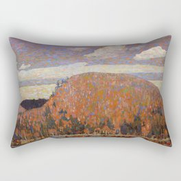 Tom Thomson - The Pointers - Canada, Canadian Oil Painting - Group of Seven Rectangular Pillow