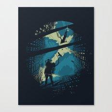 Travelers Canvas Print