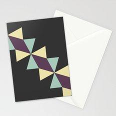 Oragami Traingles Stationery Cards