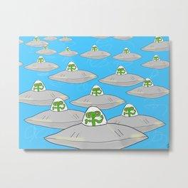 Aliens Metal Print