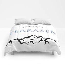 Find Me In... TERRASEN Comforters