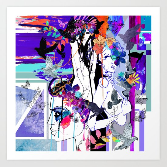 Fever Art Print