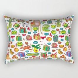 NEY YEAR PATTERN Rectangular Pillow
