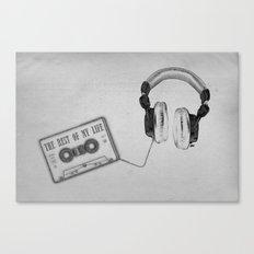 Music, please! Canvas Print