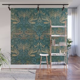 Gothic William Morris Wall Mural