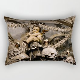in the midst of life we are in death et cetera Rectangular Pillow