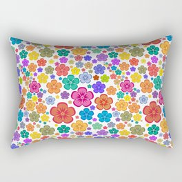 New age flower power Rectangular Pillow