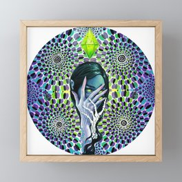 ELF MACHINE Framed Mini Art Print