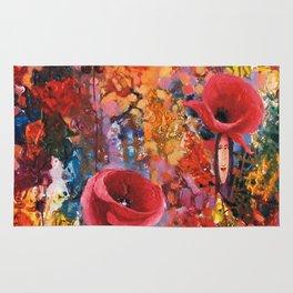 Poppies Ladies Rug