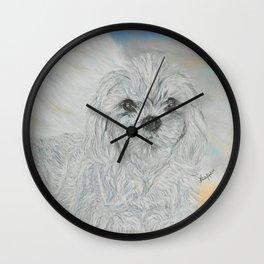 FURever An ANGEL Wall Clock