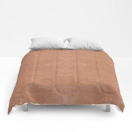 Beige canvas cloth texture abstract Comforters