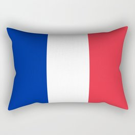Flag of France, Authentic color & scale Rectangular Pillow