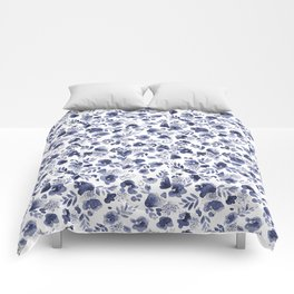 Floret Indigo Ditsy Comforters