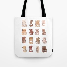 Hello, girls! // Boobs and butts Tote Bag