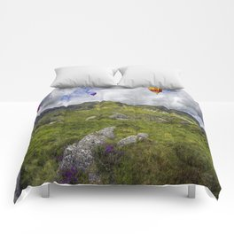 Over The Mountains Comforters