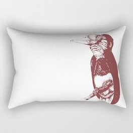 Helmeted Hornbill Rectangular Pillow