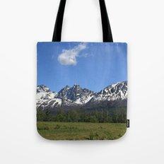 Pioneer Peak Tote Bag