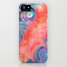 Life Is What You Make It. iPhone Case