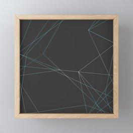 LIGHT LINES ENSEMBLE I Framed Mini Art Print