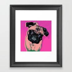 Pug #1 Framed Art Print