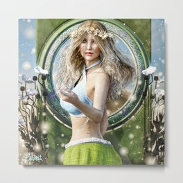 Fairy feilds Metal Print