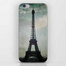 Eiffel Tower in the Storm iPhone & iPod Skin