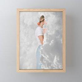 Whispering Clouds Framed Mini Art Print