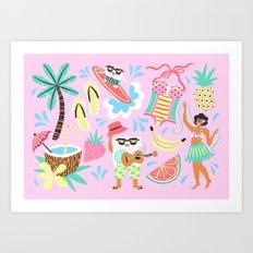 CocoFloss  Art Print