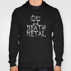 KITTENS COFFEE DEATH METAL Hoody