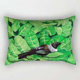 Tui in a Puka Rectangular Pillow