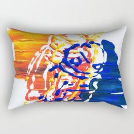 Abstractonaut V1 Rectangular Pillow