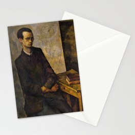 The Mathematician - Diego Rivera Stationery Cards