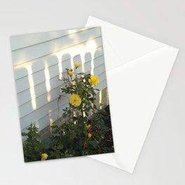 sunshine on the flower Stationery Cards