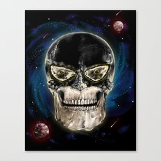 Ghost skull Canvas Print