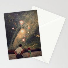Light Explosions In Our Sky Stationery Cards