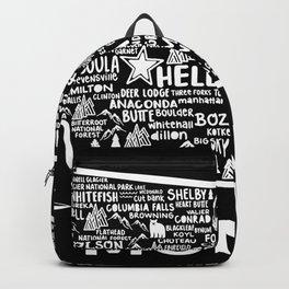 Montana Map Backpack