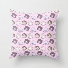 Steven Universe Gems (Pink) Throw Pillow