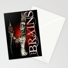 Zombie Pastry Chef Stationery Cards