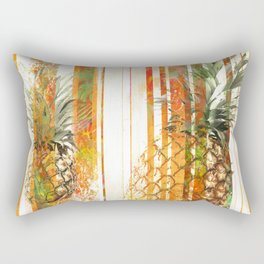 Pineapple grunge Rectangular Pillow