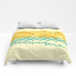 Here Comes the Sun Comforters
