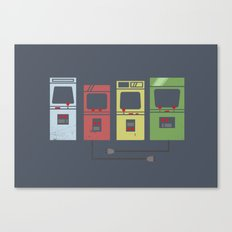 Arcade Machines Canvas Print