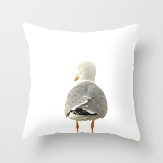 THE PIGEON Throw Pillow