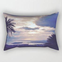 Palm Trees & Evening Breeze Rectangular Pillow