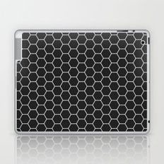 Black Hex Laptop & iPad Skin