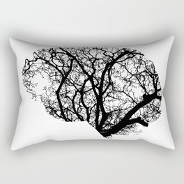 Brain Tree Rectangular Pillow