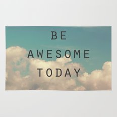 Be Awesome Today Rug