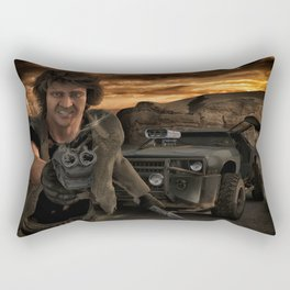 Thunder Road 1 Rectangular Pillow